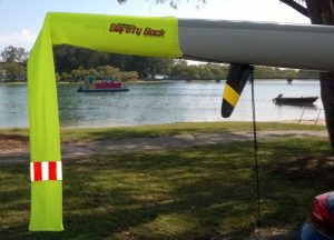 Safety Tail Flag for Paddlecraft