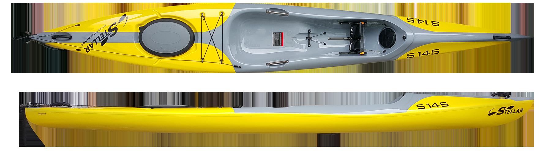 Stellar 14′ Surf Ski (S14S)