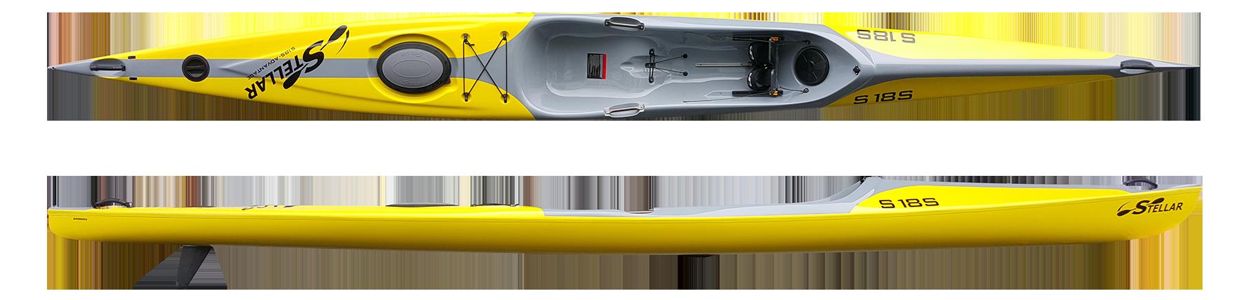 Stellar 18′ Surf Ski (S18S)