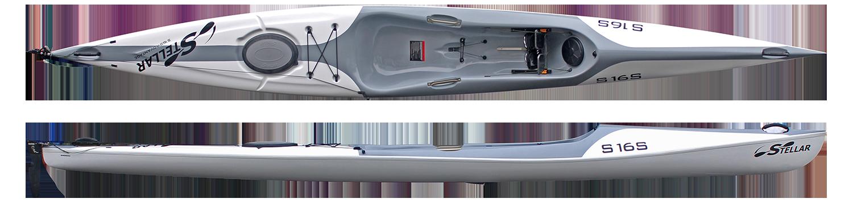 Stellar 16′ Surf Ski (S16S)